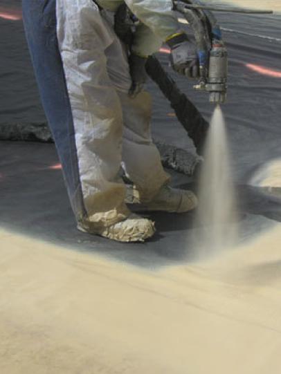 poliuretano proyectado, aislación térmica, poliuretano, poliuretano inyectado, impermeabilización y poliurea